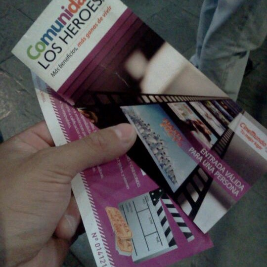 Photo taken at Cine Hoyts by Camilo C. on 3/19/2012