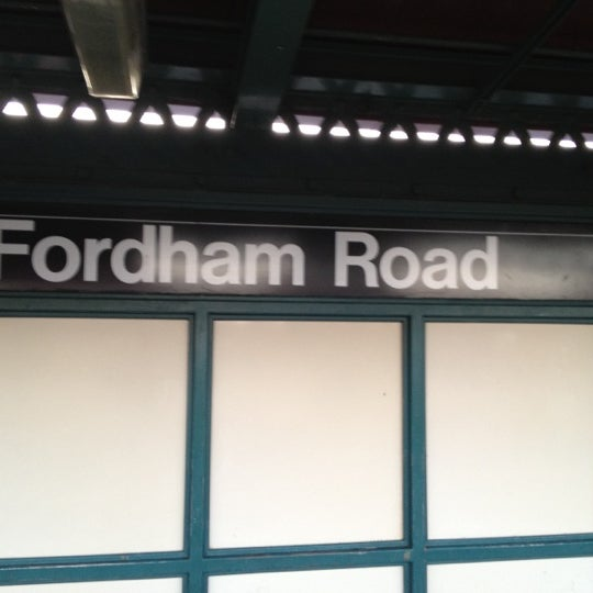 Photo taken at MTA Subway - Fordham Rd (4) by Charles H. on 7/3/2012