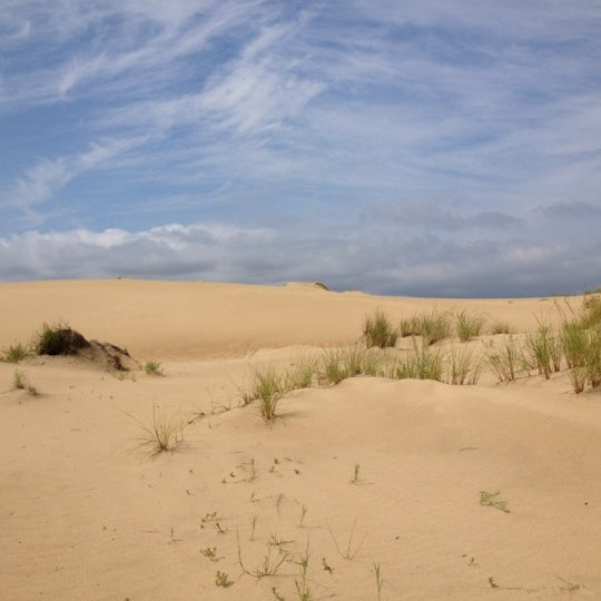 Photo taken at Jockey's Ridge State Park by Nancy S. on 9/7/2012