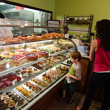 Photo taken at Almondine Bakery by 7th.List on 2/6/2012