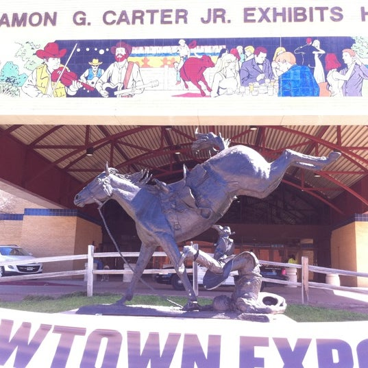Photo taken at Amon G. Carter Jr. Exhibits Hall by Steve F. on 2/25/2012