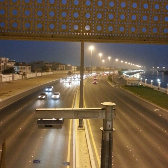 Photo taken at Corniche Al Gorm by Saeed A. on 6/22/2012