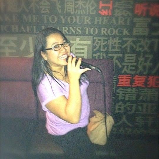 Photo taken at KBOX Plus by Suraiyah K. on 7/19/2012