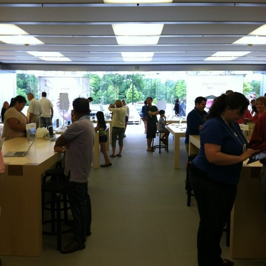Photo taken at Apple Friendly Center by K F. on 5/13/2012