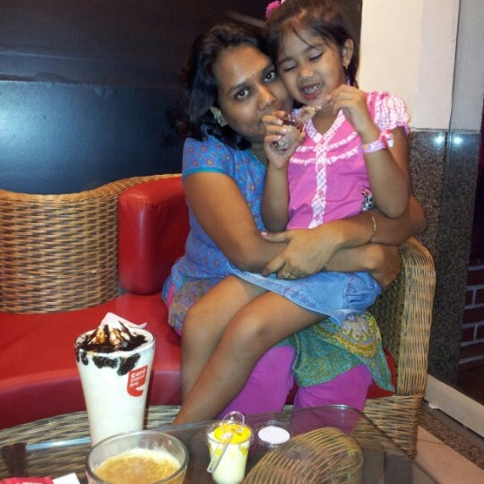Photo taken at Cafe Coffee Day by sandeep b. on 8/26/2012