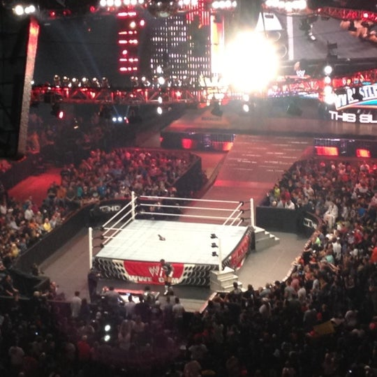 Photo taken at WWE Monday Night Raw at Philips Arena by Sheila Marie ...