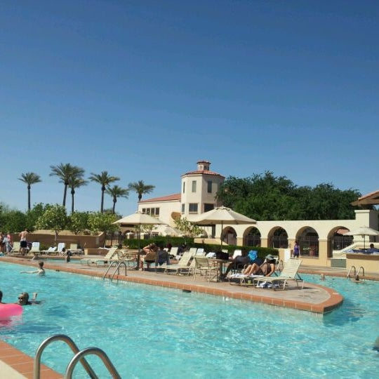 Photo taken at Legacy Golf Resort Poolside by Chris M. on 4/1/2012
