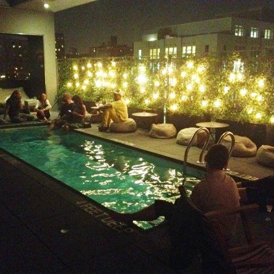 La piscine at h tel americano hotel bar in new york for La piscine new york restaurant