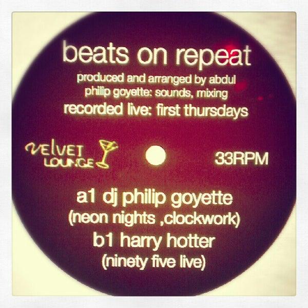 Photo taken at Velvet Lounge by Philip G. on 9/7/2012