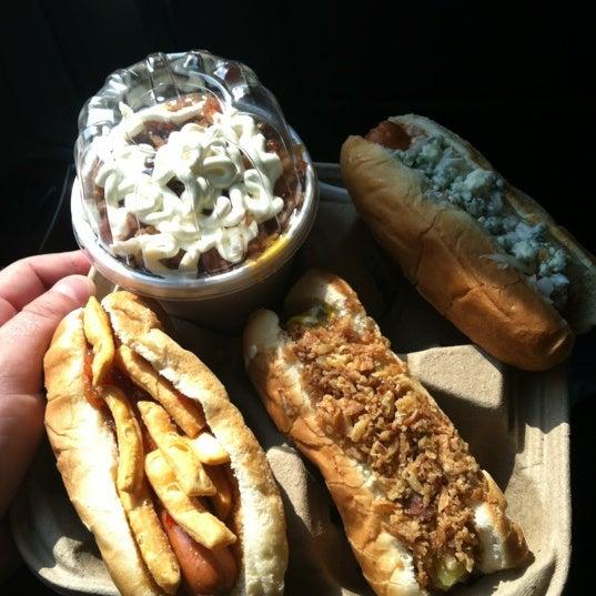 Photo taken at Hotdog Tommy's by Brett B. on 7/7/2012