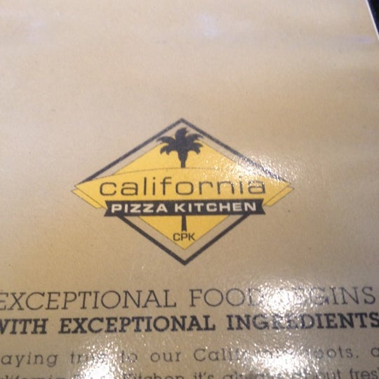 Photo taken at California Pizza Kitchen at Prudential by Erin M. on 3/20/2012