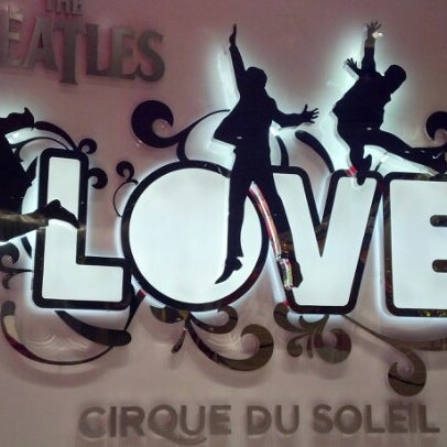 Photo taken at The Beatles LOVE (Cirque Du Soleil) by Catrese on 7/17/2012