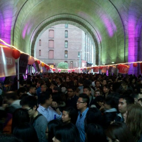 Photo taken at Lucky Rice Night Market by Brian L. on 5/5/2012
