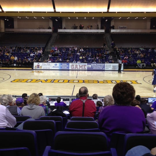 Photo taken at Allen Arena by Lane W. on 2/21/2012