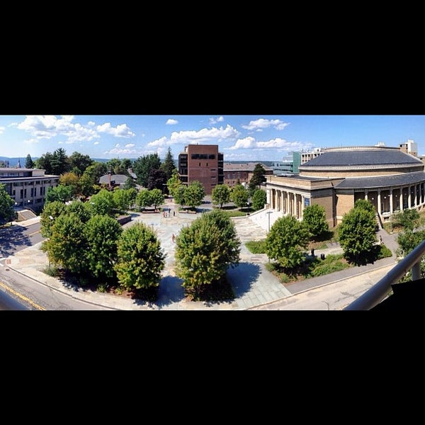 Photo taken at Bailey Hall by Hunter on 8/22/2012