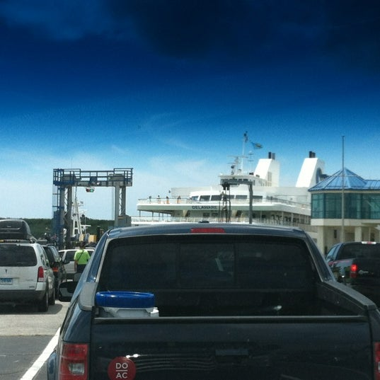 Photo taken at Cape May-Lewes Ferry | Cape May Terminal by Carlo D. on 7/30/2012