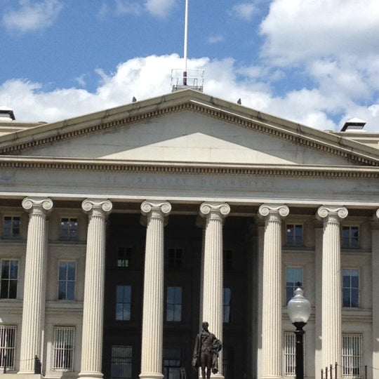 Photo taken at US Department of the Treasury by Dara on 4/24/2012