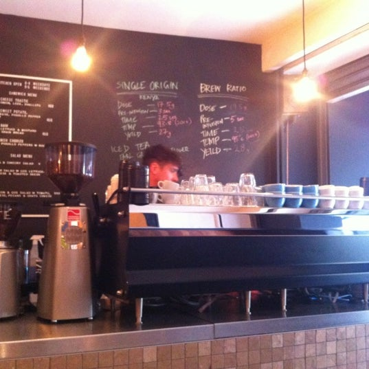 Photo taken at Flat White by Andrew S. on 7/31/2012