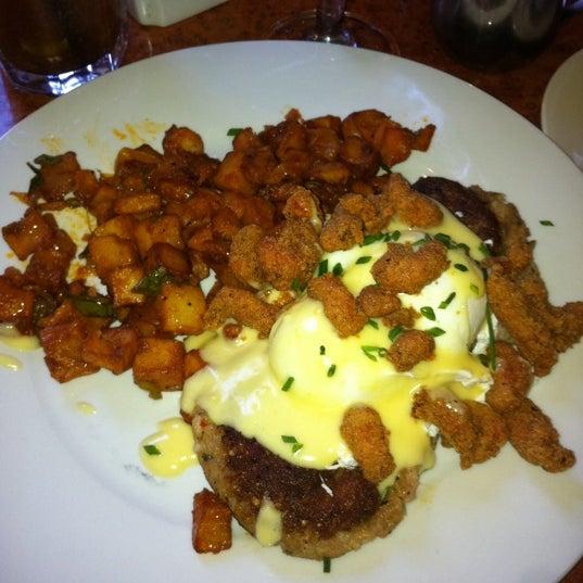 Photo taken at Atchafalaya Restaurant by Katie G. on 3/4/2012