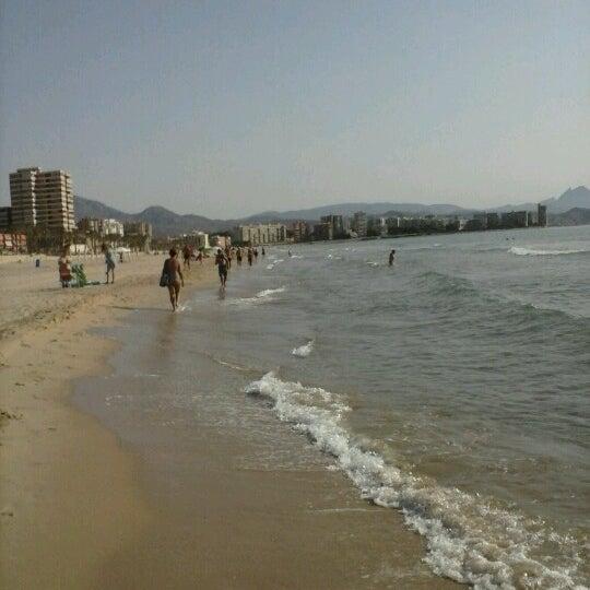 Аликанте пляж мучависта