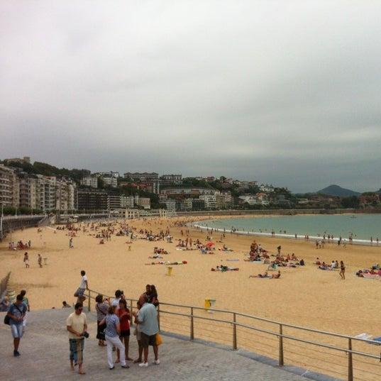 Photo taken at Paseo de La Concha by Co on 8/29/2012