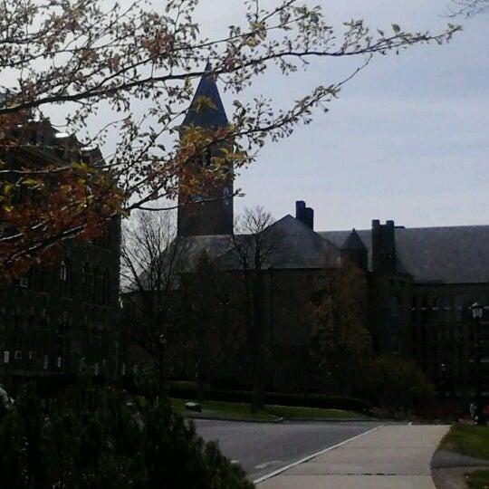 Photo taken at Cornell University by Kali on 4/14/2012