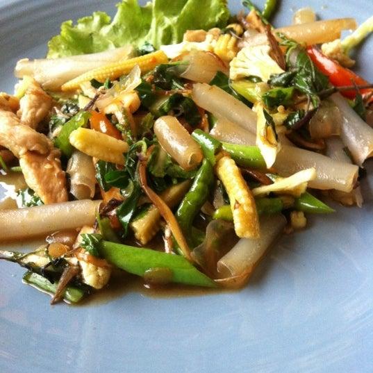 Photo taken at ร้านอาหารฉำฉา by cholticha p. on 5/12/2012