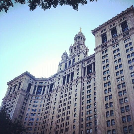 Photo taken at NYC Municipal Building by Nikki N. on 6/21/2012