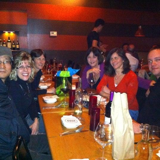 Photo taken at JoJo Bistro & Wine Bar by Rachel P. on 3/6/2012