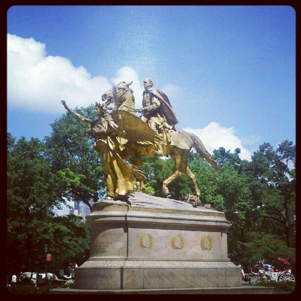 Photo taken at Grand Army Plaza by Bryan V. on 6/2/2012