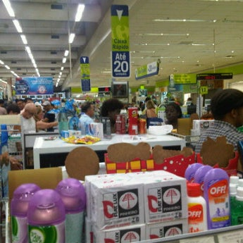 Photo taken at Carrefour by Bruno C. on 4/6/2012
