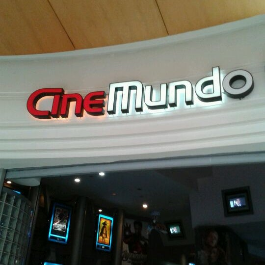 Photo taken at CineMundo by ★ ManuDroid ★ on 2/25/2012