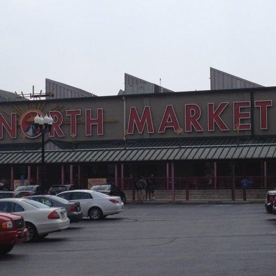 Photo taken at North Market by Laraine K. on 7/3/2012