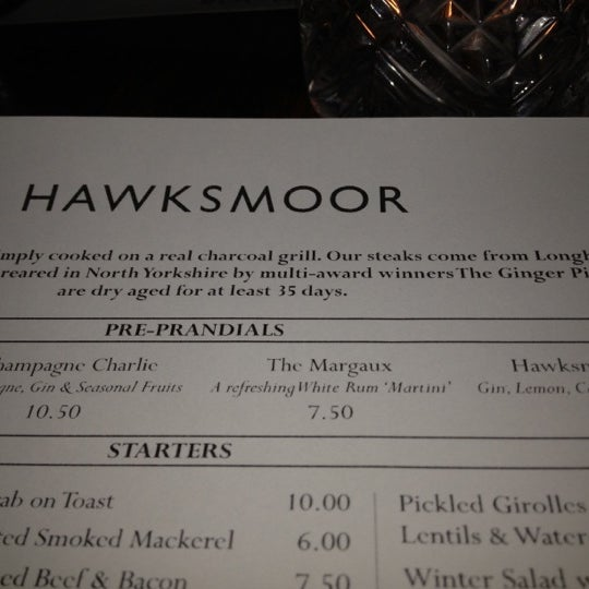 Photo taken at Hawksmoor Seven Dials by Hamid S. on 2/18/2012