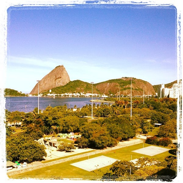 Photo taken at Aterro do Flamengo by Josh R. on 4/13/2012