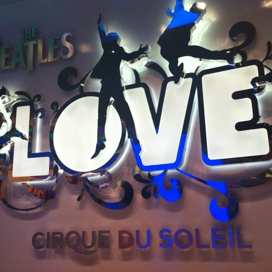Photo taken at The Beatles LOVE (Cirque Du Soleil) by Sonam on 5/21/2012