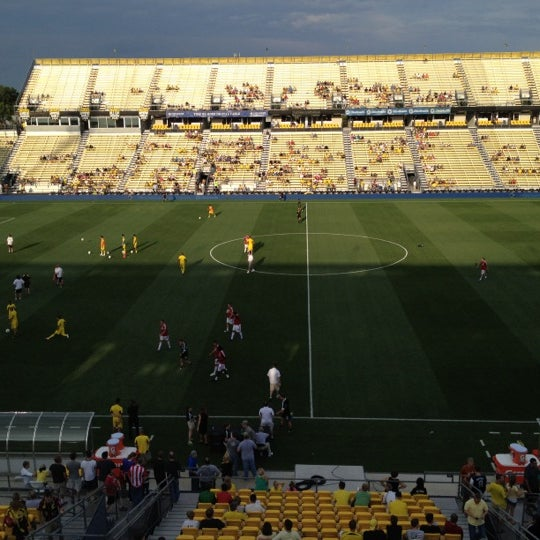 Photo taken at MAPFRE Stadium by Gabe S. on 7/24/2012