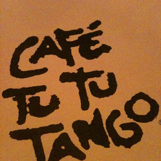 Photo taken at Café Tu Tu Tango by Elaine P. on 5/27/2012
