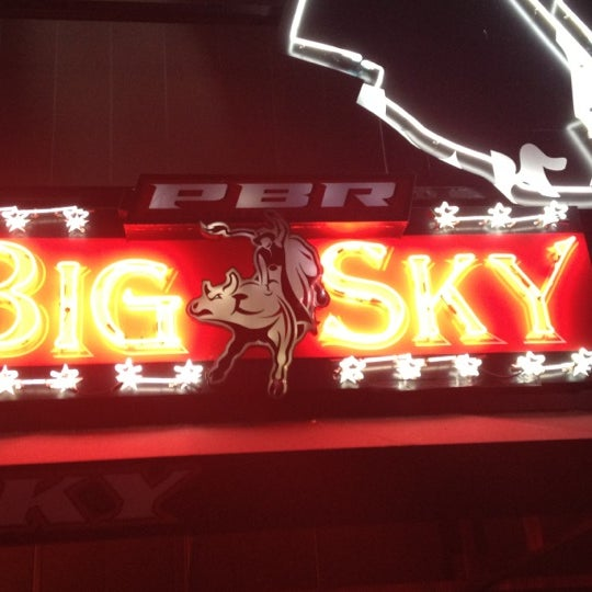 Photo taken at PBR Big Sky by libby on 4/29/2012