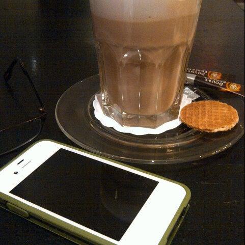 Photo taken at Grand Café Plaza by kasih d. on 8/9/2012