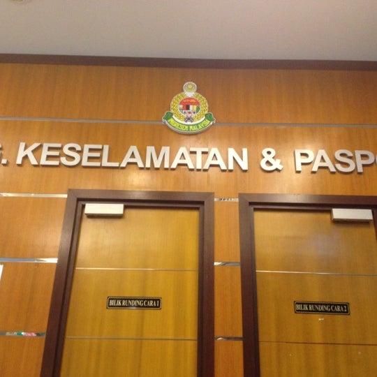 Photo taken at Jabatan Imigresen Malaysia by M.Fysal on 3/9/2012