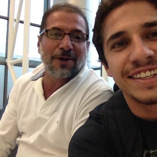 Photo taken at Gate 5 Aeropuerto Internacional Juan Santamaria by Jose M. on 9/8/2012