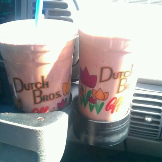 Photo taken at Dutch Bros. Coffee by Alexis L. on 2/20/2012
