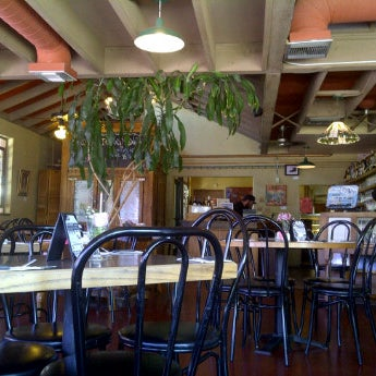 Photo taken at Delectables Restaurant & Catering by Brian S. on 6/9/2012