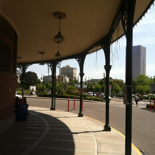 Photo taken at Union Station Amtrak (PDX) by Christian C. on 5/11/2012