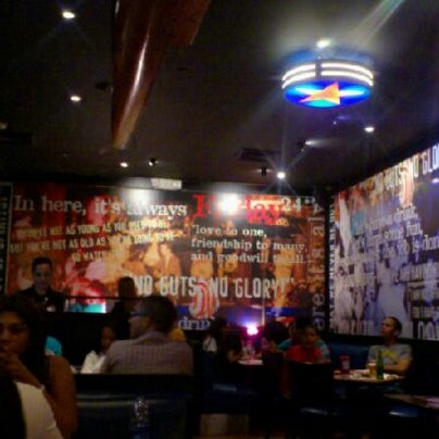 Photo taken at T.G.I. Friday's by David G. on 7/29/2012