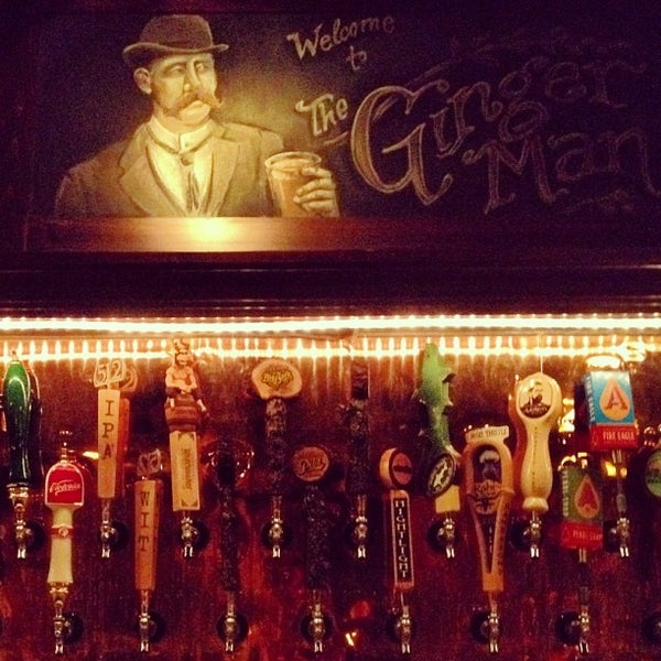 Photo taken at The Ginger Man by Kayvon T. on 3/14/2012