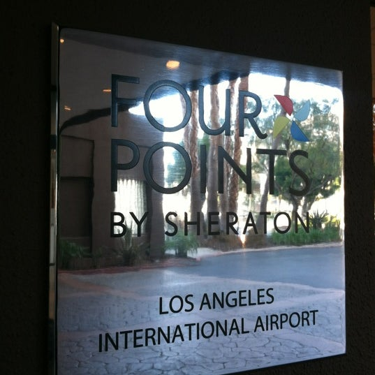 Photo taken at Four Points by Sheraton Los Angeles International Airport by Mike R. on 3/3/2012