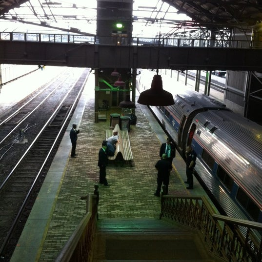 Photo taken at Amtrak: Harrisburg Transportation Center (HAR) by Dan 4. on 3/15/2012