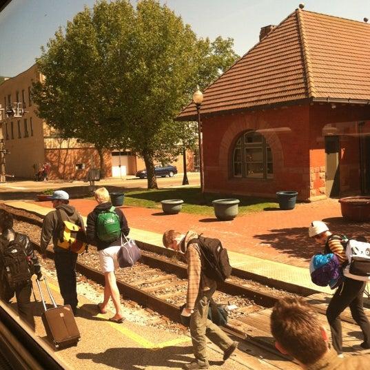 Photo taken at Kalamazoo Transportation Center - Amtrak (KAL) by Stacy Y. on 4/27/2012
